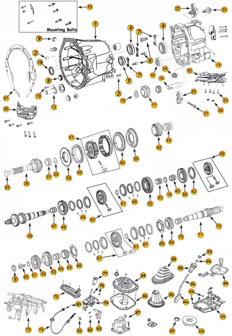 T56 Parts Diagram Trusted Wiring Harness Tremec Explore Schematic U2022 M5r2 Transmission
